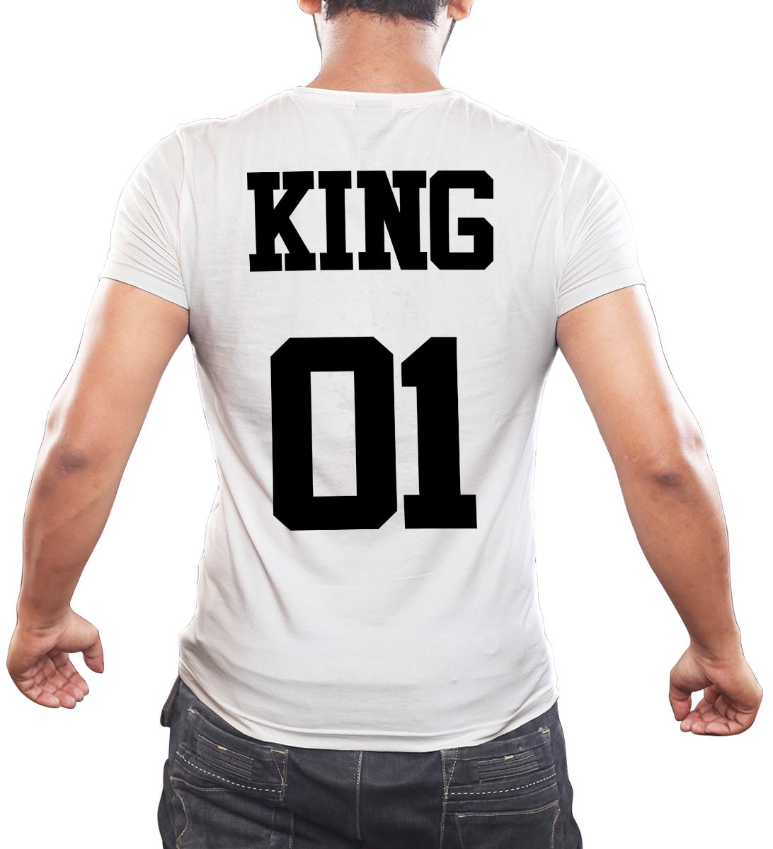 Koszulka męska King przód